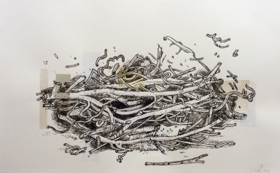 Compost Collage, No. 07