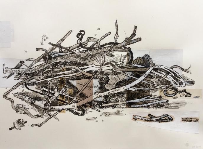 Compost Collage, No. 08