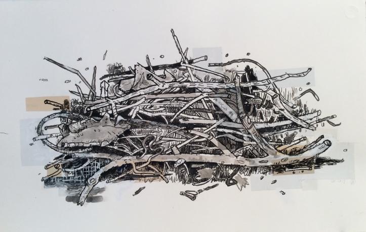Compost Collage, No. 11