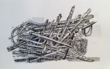 Compost Collage, No. 13